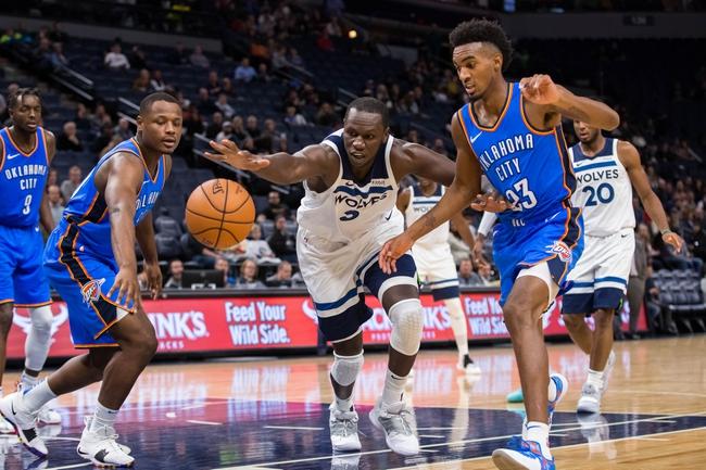 Oklahoma City Thunder vs. Minnesota Timberwolves - 12/23/18 NBA Pick, Odds, and Prediction
