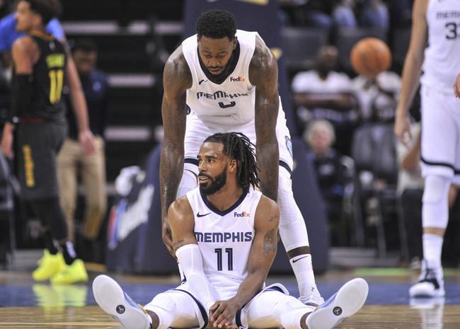 Memphis Grizzlies vs. Houston Rockets - 10/12/18 NBA Pick, Odds, and Prediction