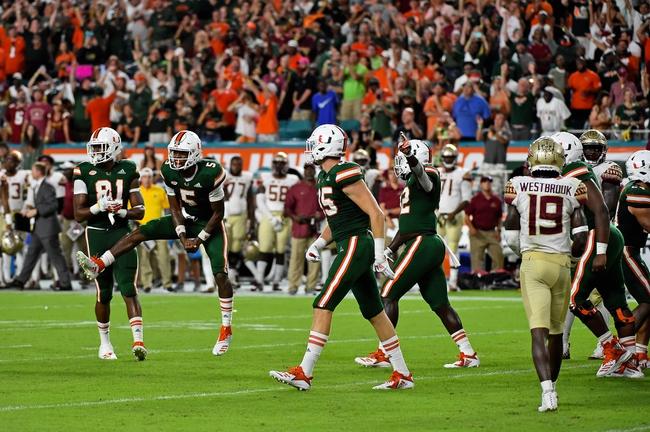 Florida State vs. Miami (FL) - 11/2/19 College Football Pick, Odds, and Prediction