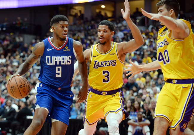 Los Angeles Lakers vs. Los Angeles Clippers - 12/28/18 NBA Pick, Odds, and Prediction