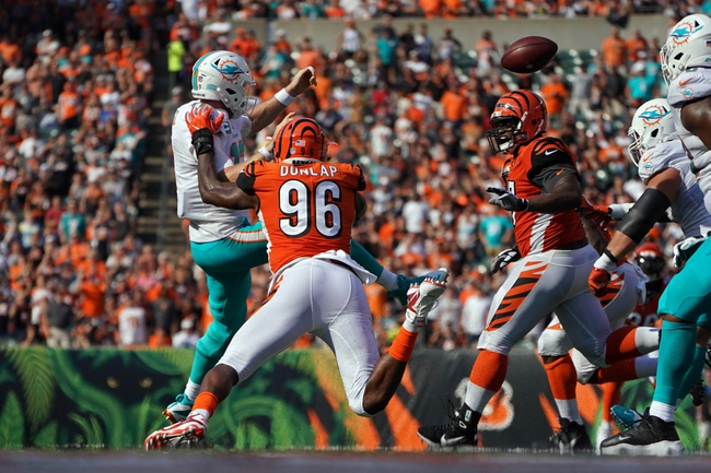 Cincinnati Bengals at Miami Dolphins - 12/22/19 NFL Pick, Odds, and Prediction