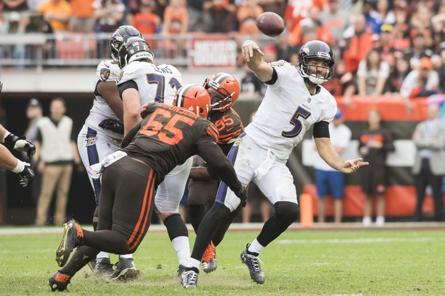 Tennessee Titans vs. Baltimore Ravens - 10/14/18 NFL Pick, Odds, and Prediction