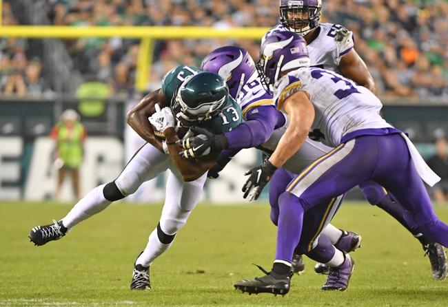 Philadelphia Eagles at Minnesota Vikings - 10/13/19 NFL Pick, Odds, and Prediction