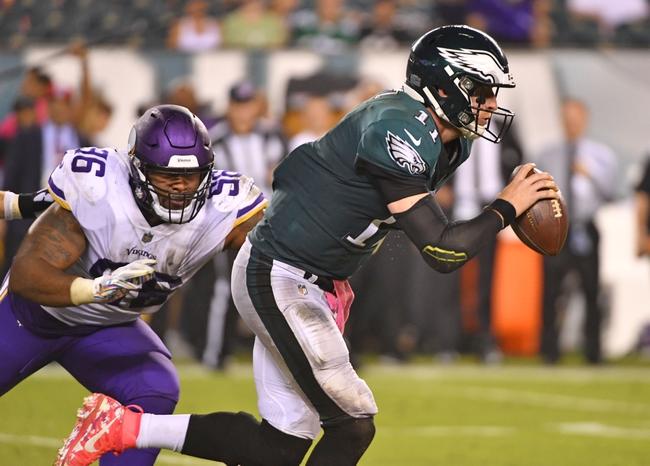 Minnesota Vikings vs. Philadelphia Eagles - 10/13/19 NFL Pick, Odds, and Prediction