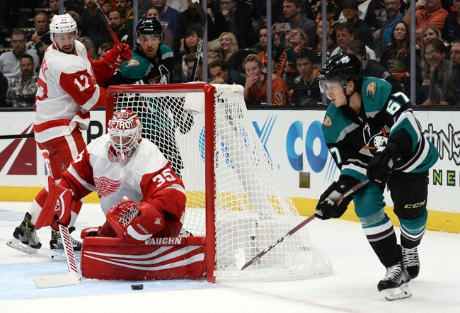 Detroit Red Wings vs. Anaheim Ducks - 10/8/19 NHL Pick, Odds, and Prediction