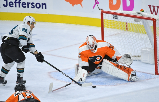 San Jose Sharks vs. Philadelphia Flyers - 12/28/19 NHL Pick, Odds & Prediction