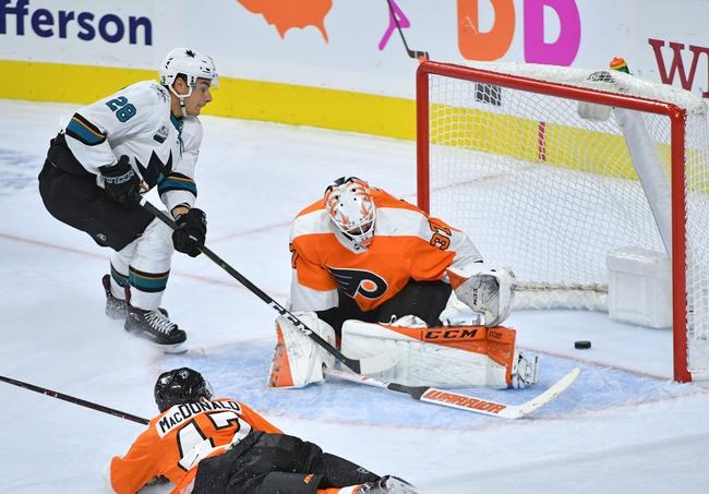 San Jose Sharks vs. Philadelphia Flyers - 12/28/19 NHL Pick, Odds, and Prediction