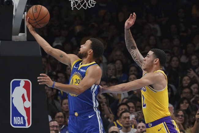 Golden State Warriors vs. Los Angeles Lakers - 12/25/18 NBA Pick, Odds, and Prediction
