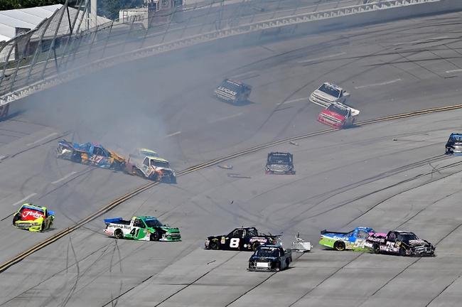 NASCAR Truck Series Talladega Head to Head