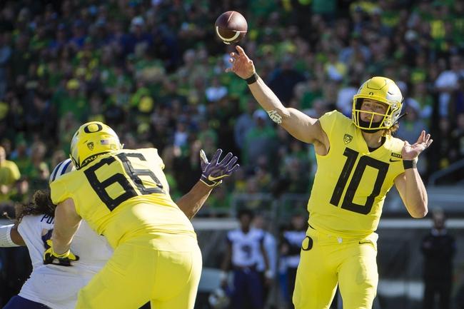 Arizona vs. Oregon - 10/27/18 College Football Pick, Odds, and Prediction