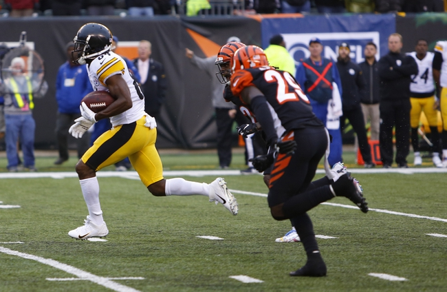 Cincinnati Bengals at Pittsburgh Steelers - 12/30/18 NFL Pick, Odds, and Prediction