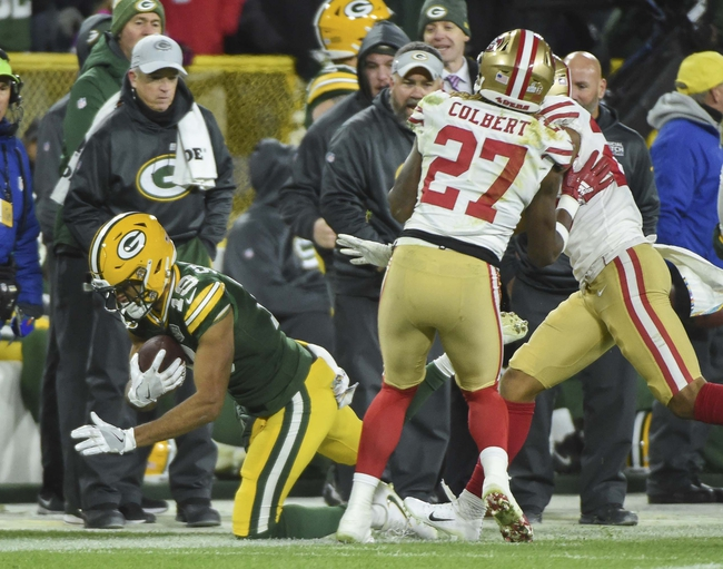 San Francisco 49ers vs. Green Bay Packers - 11/24/19 NFL Pick, Odds, and Prediction