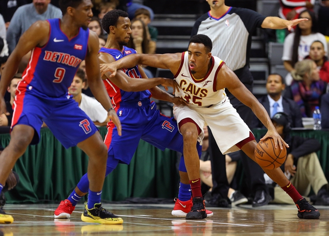 Detroit Pistons vs. Cleveland Cavaliers - 10/25/18 NBA Pick, Odds, and Prediction