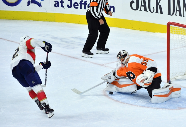 Florida Panthers vs. Philadelphia Flyers - 11/19/19 NHL Pick, Odds, and Prediction