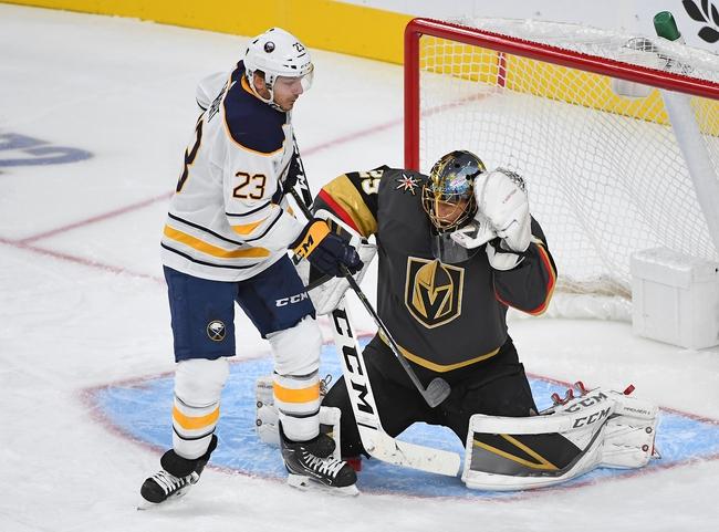 Buffalo Sabres vs. Vegas Golden Knights - 1/14/20 NHL Pick, Odds & Prediction