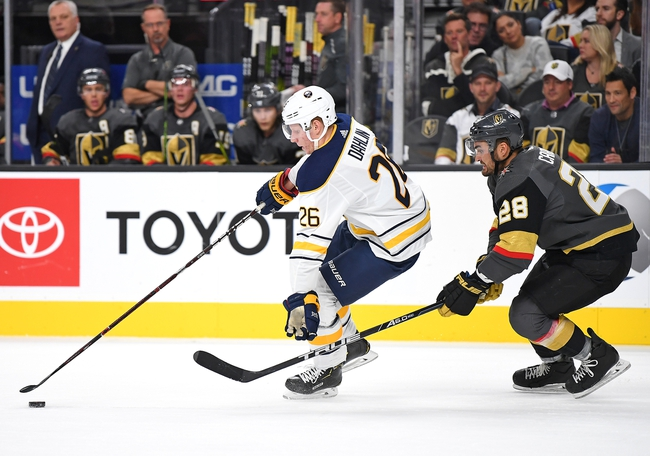 Buffalo Sabres vs. Vegas Golden Knights - 1/14/20 NHL Pick, Odds, and Prediction