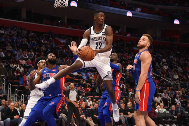 Brooklyn Nets vs. Detroit Pistons - 10/31/18 NBA Pick, Odds, and Prediction