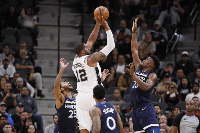 Minnesota Timberwolves vs. San Antonio Spurs - 11/28/18 NBA Pick, Odds, and Prediction
