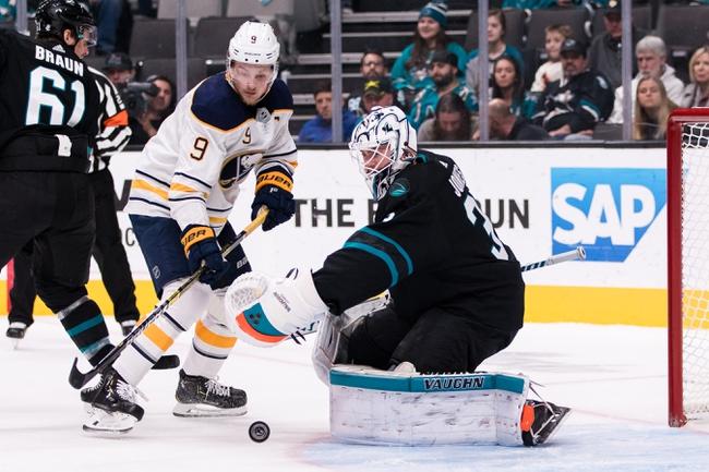 San Jose Sharks vs. Buffalo Sabres - 10/19/19 NHL Pick, Odds, and Prediction