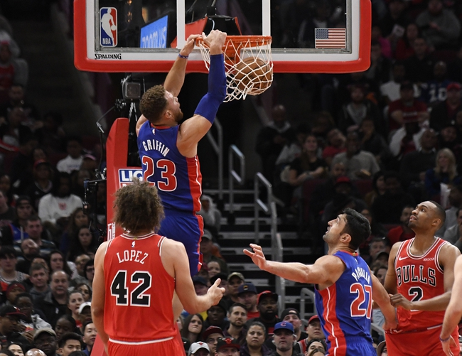 Detroit Pistons vs. Chicago Bulls - 11/30/18 NBA Pick, Odds, and Prediction