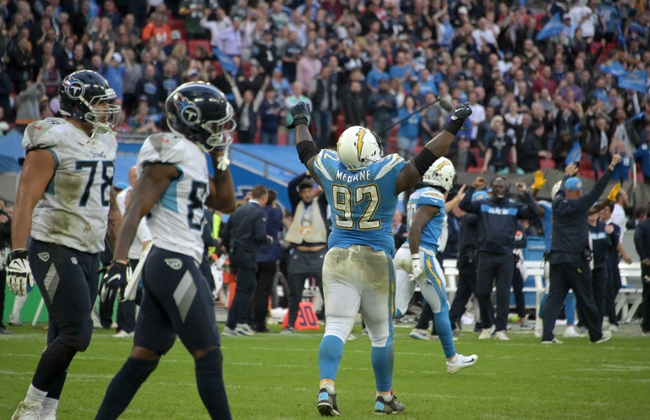 Tennessee Titans vs. Los Angeles Chargers - 10/20/19 NFL Pick, Odds, and Prediction