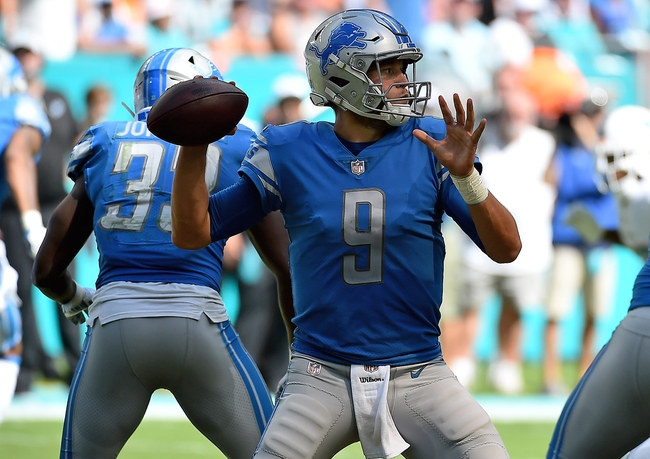 Seattle Seahawks at Detroit Lions - 10/28/18 NFL Pick, Odds, and Prediction