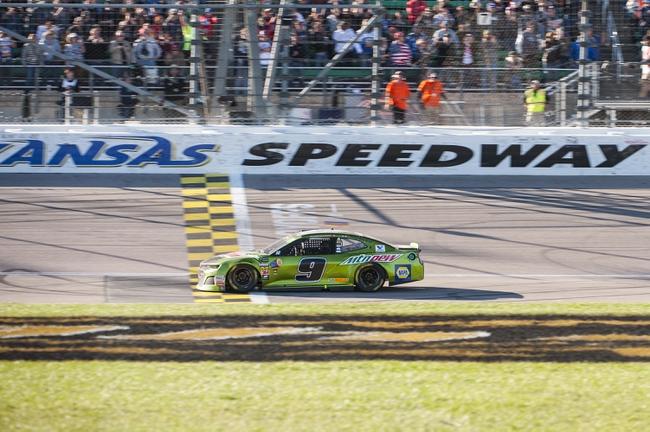Jeter's NASCAR Cup Series Hollywood Casino 400 Kansas Speedway Top 5 Finish