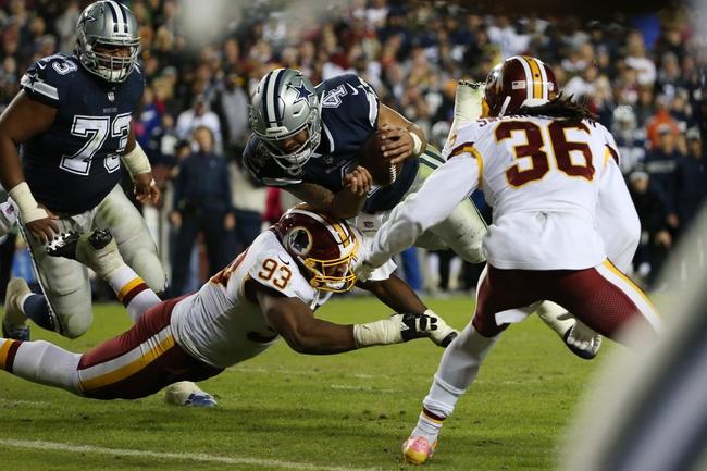 Dallas Cowboys vs. Washington Redskins - 11/22/18 NFL Pick, Odds, and Prediction