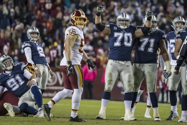 Washington Redskins at Dallas Cowboys - 11/22/18 NFL Pick, Odds, and Prediction
