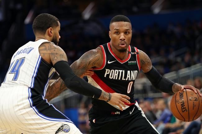 Portland Trail Blazers vs. Orlando Magic - 11/28/18 NBA Pick, Odds, and Prediction