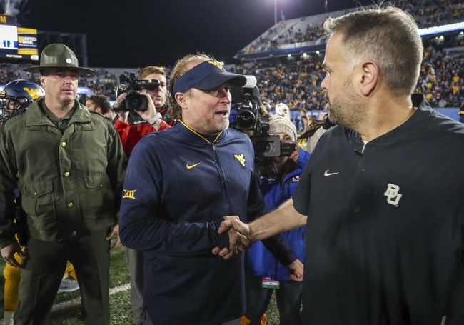 Baylor vs. West Virginia - 10/31/19 College Football Pick, Odds, and Prediction