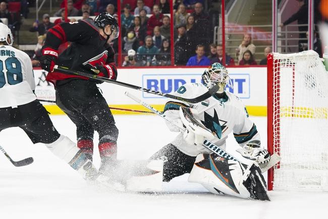 San Jose Sharks vs. Carolina Hurricanes - 10/16/19 NHL Pick, Odds, and Prediction