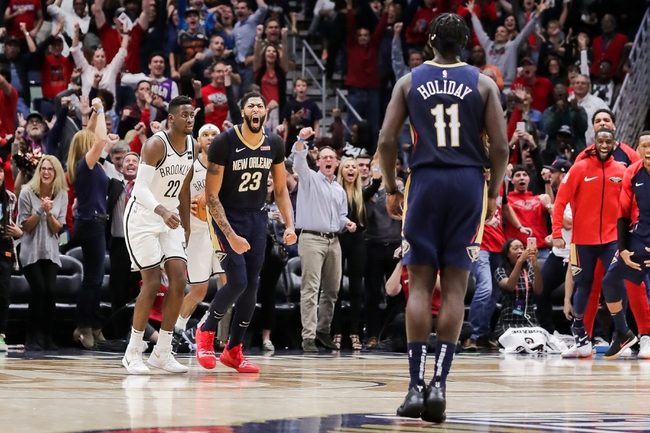 Brooklyn Nets vs. New Orleans Pelicans - 1/2/19 NBA Pick, Odds, and Prediction
