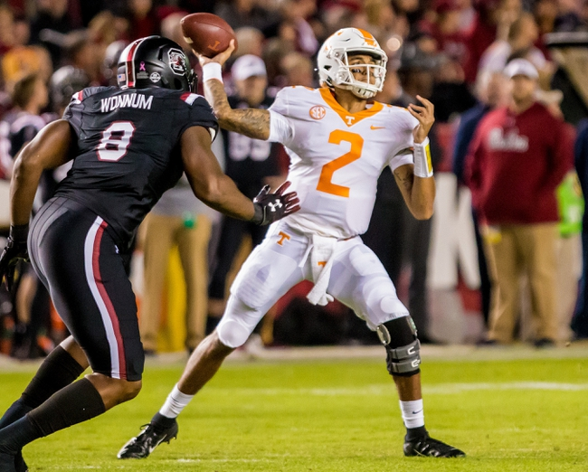 Tennessee vs. Charlotte - 11/3/18 College Football Pick, Odds, and Prediction
