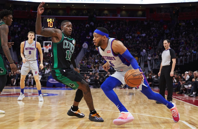 Boston Celtics vs. Detroit Pistons - 10/30/18 NBA Pick, Odds, and Prediction