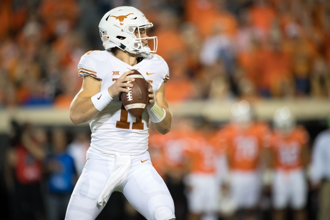 Texas vs. West Virginia - 11/3/18 College Football Pick, Odds, and Prediction