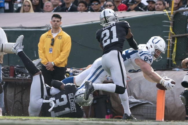 Indianapolis Colts vs. Oakland Raiders - 9/29/19 NFL Pick, Odds, and Prediction