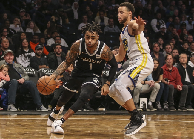 Golden State Warriors vs. Brooklyn Nets - 11/10/18 NBA Pick, Odds, and Prediction