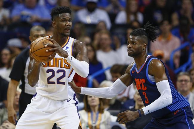 Oklahoma City Thunder vs. Phoenix Suns - 11/12/18 NBA Pick, Odds, and Prediction