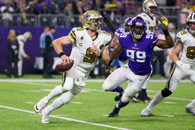 Minnesota Vikings at New Orleans Saints - 1/5/20 NFL Pick, Odds, and Prediction