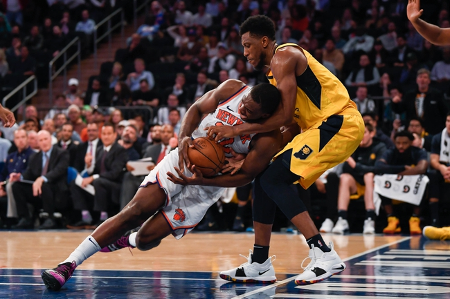 Indiana Pacers vs. New York Knicks - 12/16/18 NBA Pick, Odds, and Prediction
