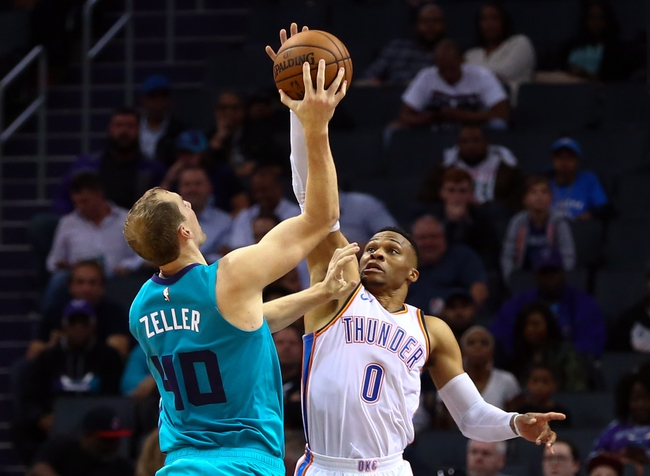 Oklahoma City Thunder vs. Charlotte Hornets - 11/23/18 NBA Pick, Odds, and Prediction