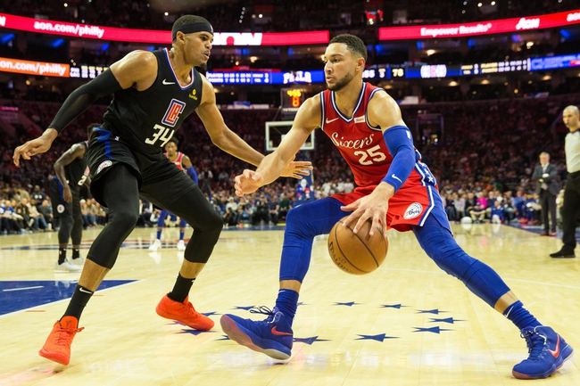 Los Angeles Clippers vs. Philadelphia 76ers - 1/1/19 NBA Pick, Odds, and Prediction