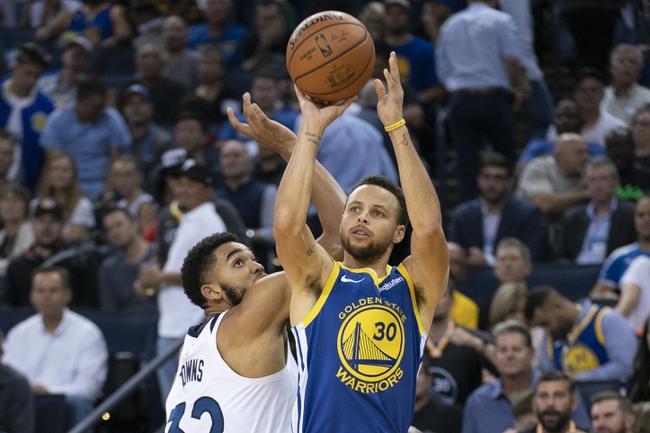 Golden State Warriors vs. Minnesota Timberwolves - 12/10/18 NBA Pick, Odds, and Prediction