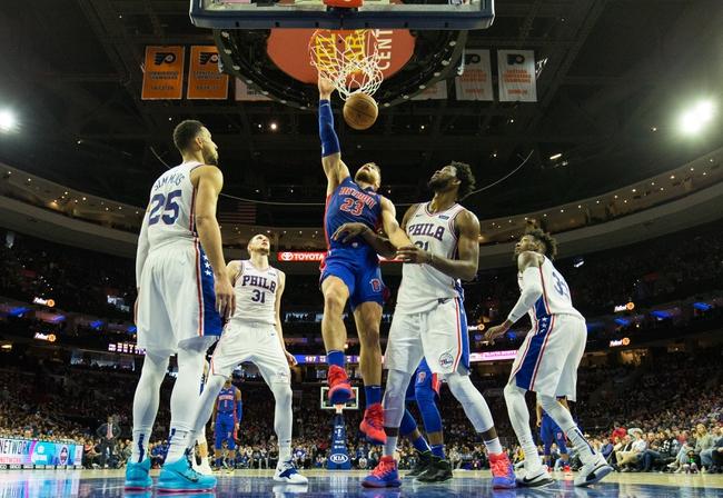 Detroit Pistons vs. Philadelphia 76ers - 12/7/18 NBA Pick, Odds, and Prediction