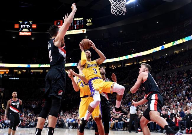 Los Angeles Lakers vs. Portland Trail Blazers - 11/14/18 NBA Pick, Odds, and Prediction