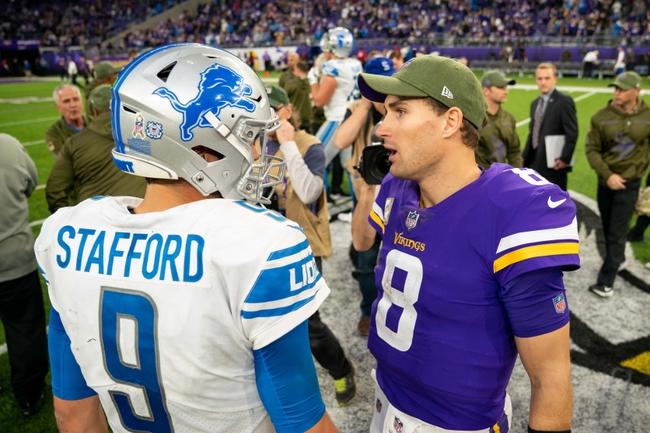 Detroit Lions vs. Minnesota Vikings - 12/23/18 NFL Pick, Odds, and Prediction