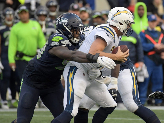 Los Angeles Chargers vs. Seattle Seahawks - 8/24/19 NFL Preseason Pick, Odds, and Prediction