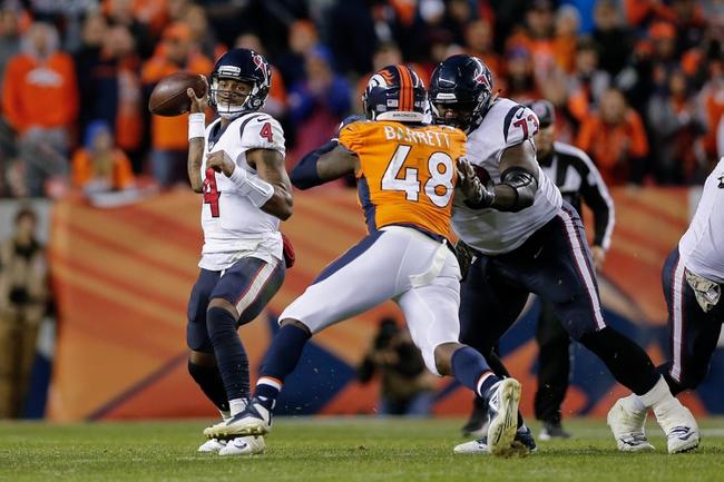 Denver Broncos at Houston Texans - 12/8/19 NFL Pick, Odds, and Prediction