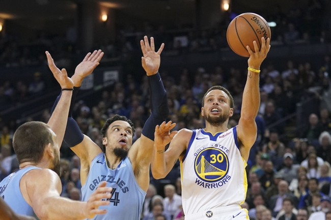 Golden State Warriors vs. Memphis Grizzlies - 12/17/18 NBA Pick, Odds, and Prediction